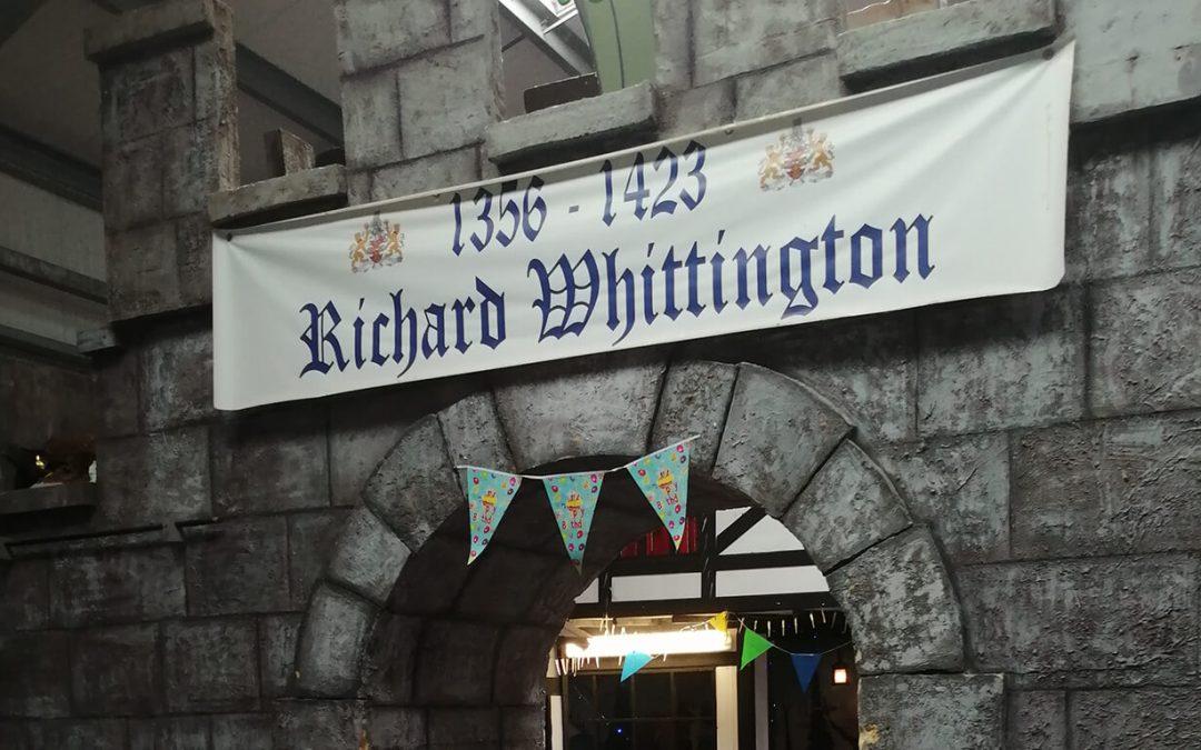 Richard Whittington castle wall