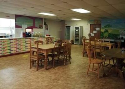 Restaurant and cafe